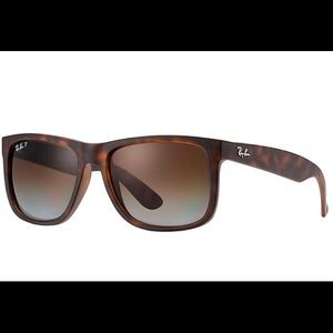 Justin Classic, Brown Tortoise Ray Bans Sunglasses
